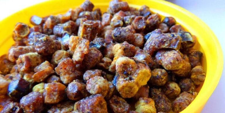 Перга (пчелиный хлеб).