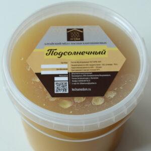 Мёд подсолнечный