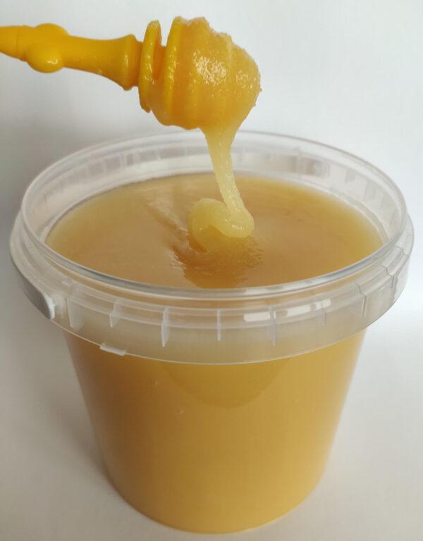 Мед подсолнечниковый 1 литр (1,4 кг)