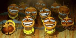Пчелы смеются